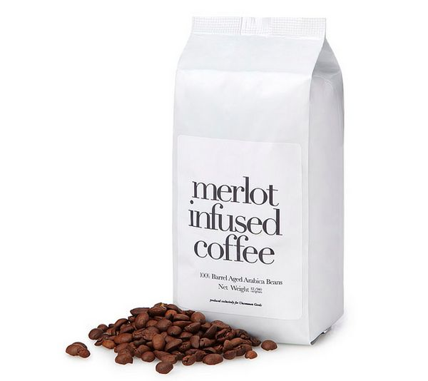 "Get it <a href=""http://www.uncommongoods.com/product/merlot-infused-coffee"">here</a>."