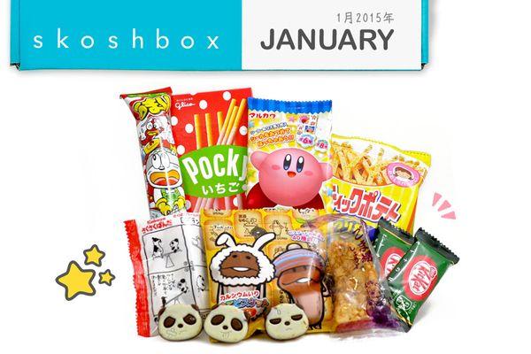"<a href=""https://www.skoshbox.com/"" target=""_blank"">Skoshbox Japanese Snacks</a>, $10 per delivery"