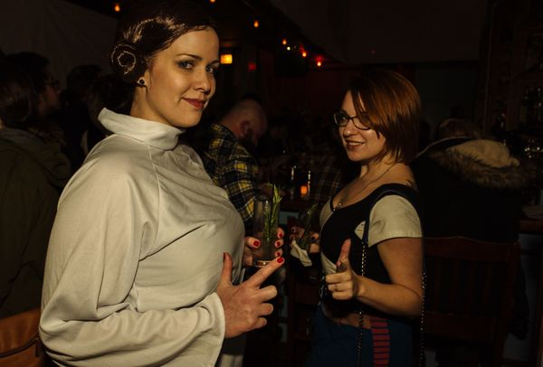 This was definitely the hottest party between here and Alderaan.