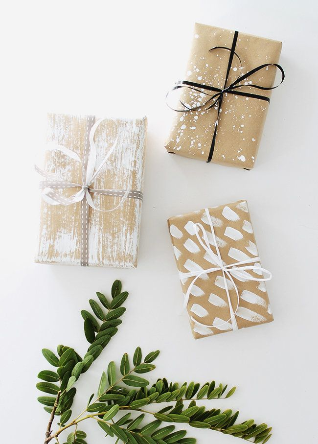 No artist could resist this DIY by u003ca hrefu003d // & Incredibly Cute Gift Wrapping Ideas Thatu0027ll Make You Want To Wrap ...