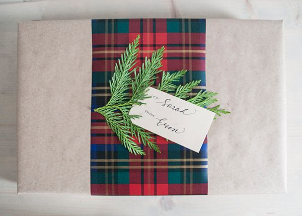"""Trying to save paper? Try your hand at paper layering like <a href=""""http://www.earnesthomeco.com/wrap-gifts-better/"""" target="""""""