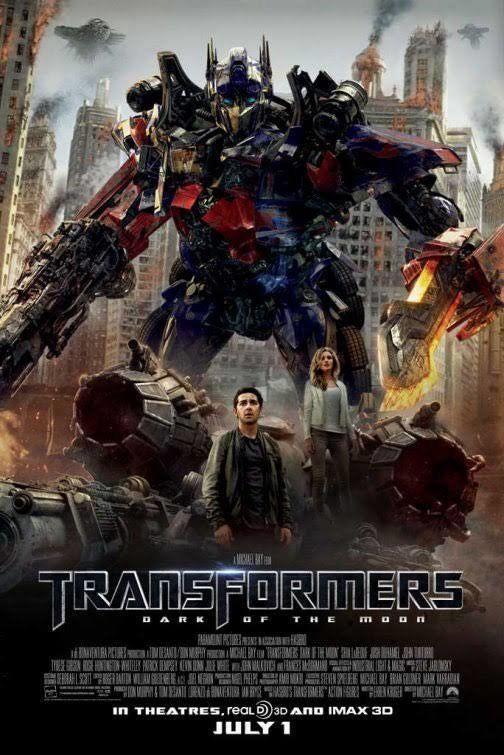 """Transformers: Dark of the Moon"" (2011), $1,123.8 Million Worldwide"