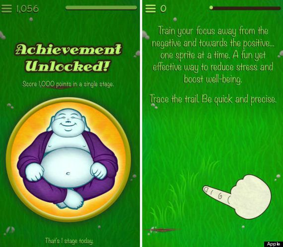 "<a href=""http://www.personalzen.com/"">Personal Zen</a> is another app that takes therapy techniques and morphs them into an e"