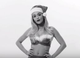 Rita Ora Recreates Iconic 'Jingle Bell Rock' Dance From 'Mean Girls'