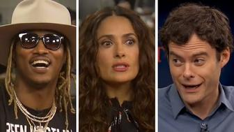 Future, Salma Hayek and Bill Hader appear on HuffPost Live.