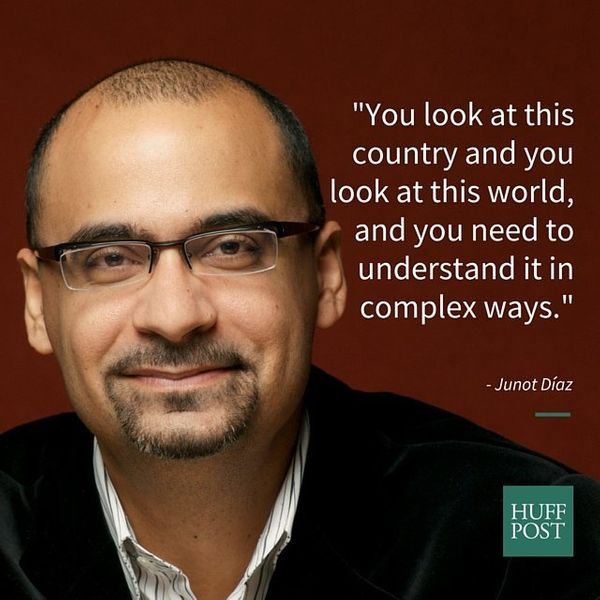 "Pulitzer Prize-winning author Junot D&iacute;az <a href=""https://www.huffpost.com/entry/junot-diaz-breaks-down-the-importance"