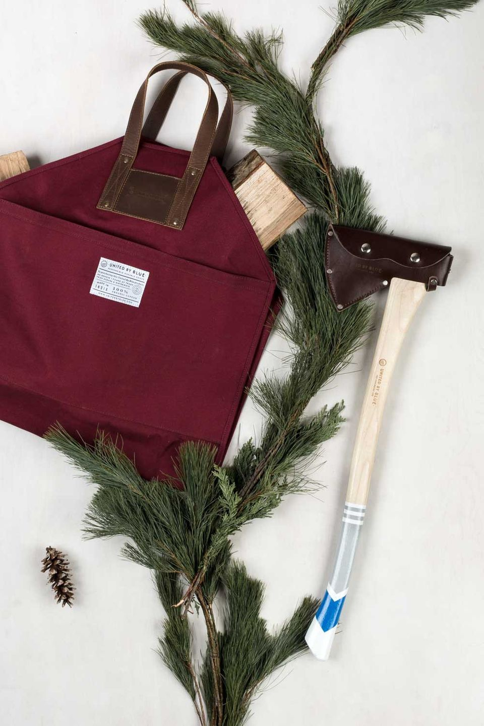 """Lumber Gift Pack, $250 at <a href=""""http://unitedbyblue.com/collections/outdoor/products/lumber-gift-pack?variant=11739810884"""""""