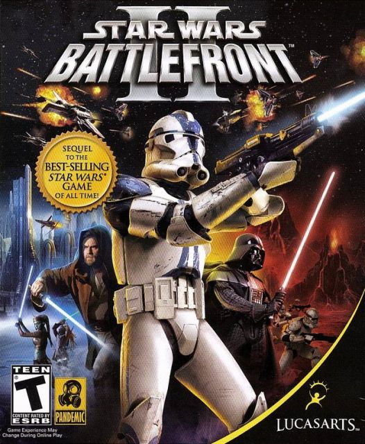 """""""Star Wars: Battlefront 2"""" only improved upon the strengths of its 2004 predecessor,addingbreathtaking space batt"""
