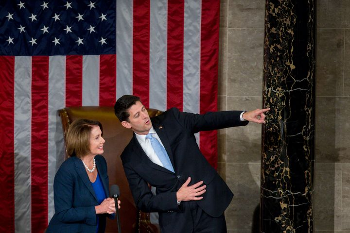"House Speaker Paul Ryan (R-Wis.) promised on Friday to ""take action on restructuring legislation by March 31"" to allevia"