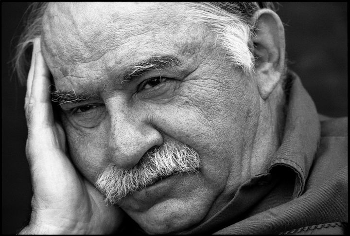 Murray Bookchin, photographed in 1992 by Ludwig Rauch. Image used with permission from the Murray Bookchin Trust.
