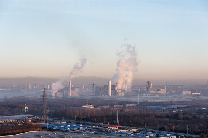 Chinese state-owned news agency Xinhua put blame for the smog on the over-reliance of much of northern China on coal for its