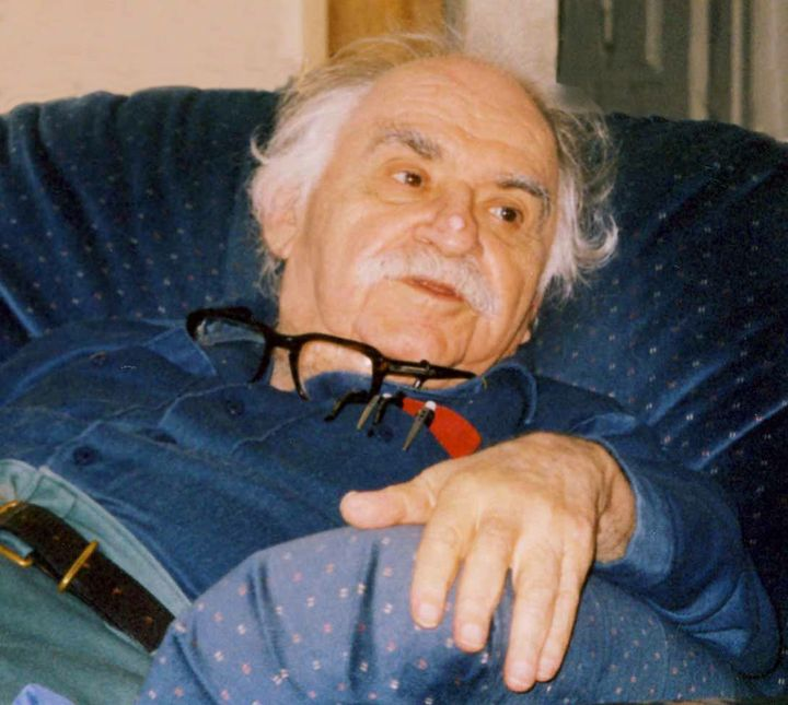 Murray Bookchin in 2004, the year he corresponded with Ocalan. He died two years later, before Rojava began making his vision