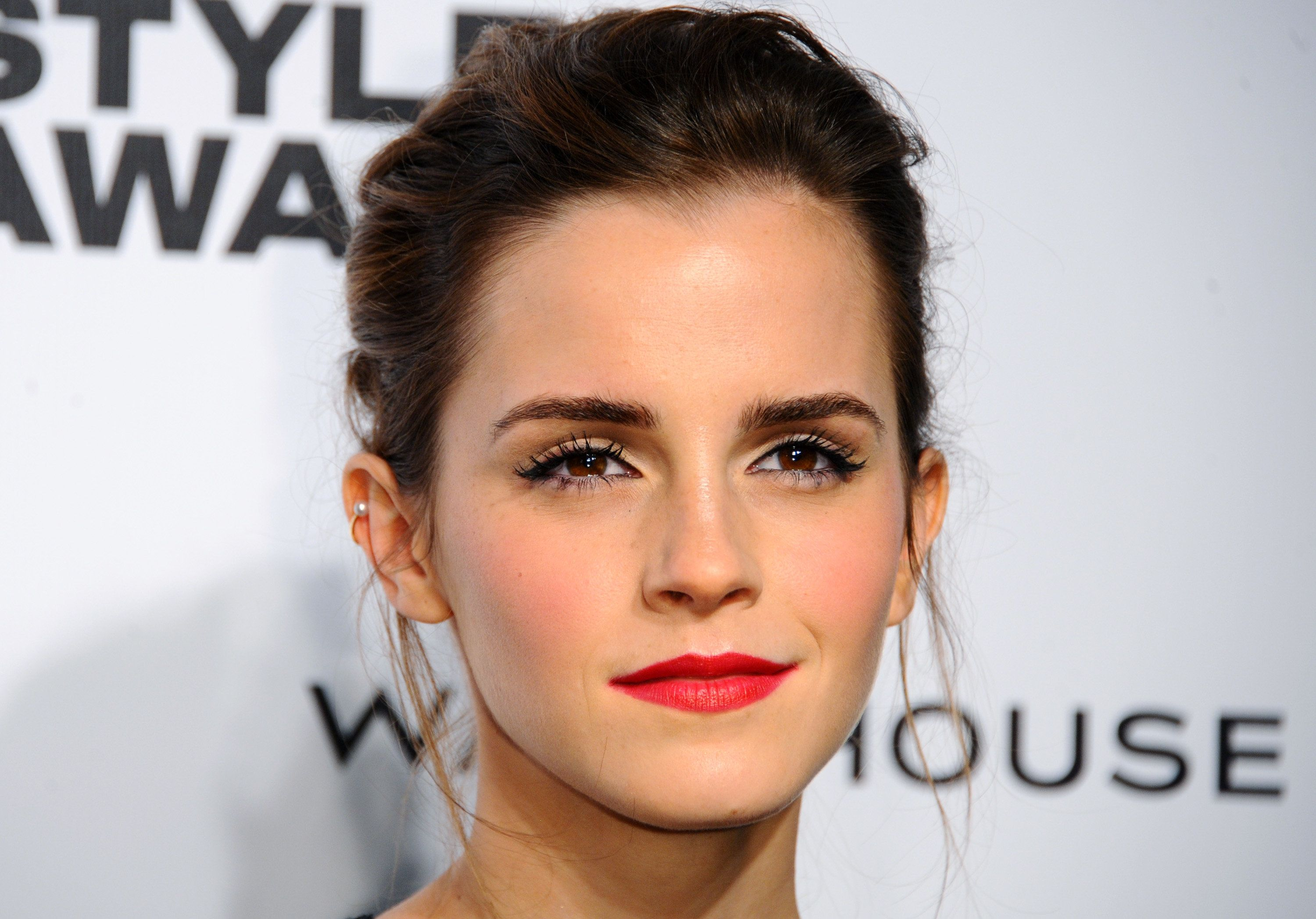 LONDON, ENGLAND - FEBRUARY 18:  Emma Watson attends the Elle Style Awards 2014 at one Embankment on February 18, 2014 in London, England.  (Photo by Anthony Harvey/Getty Images)