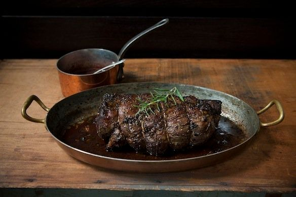"""<strong>Get the <a href=""""http://food52.com/recipes/14725-porcini-and-rosemary-crusted-beef-tenderloin-with-port-wine-sauce"""" t"""