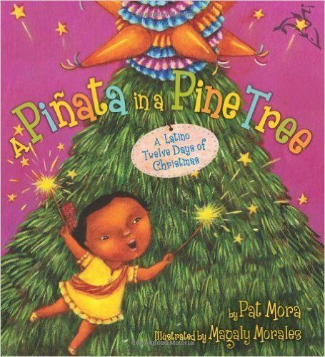 "In this Latino twist on ""The Twelve Days of Christmas"" a little girl recounts the gifts her amiga gave to her, in"