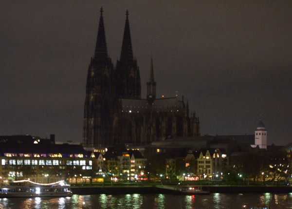 "One of Germany's most famous landmarks, Cologne Cathedral, was <a href=""https://www.huffpost.com/entry/cologne-cathedral"