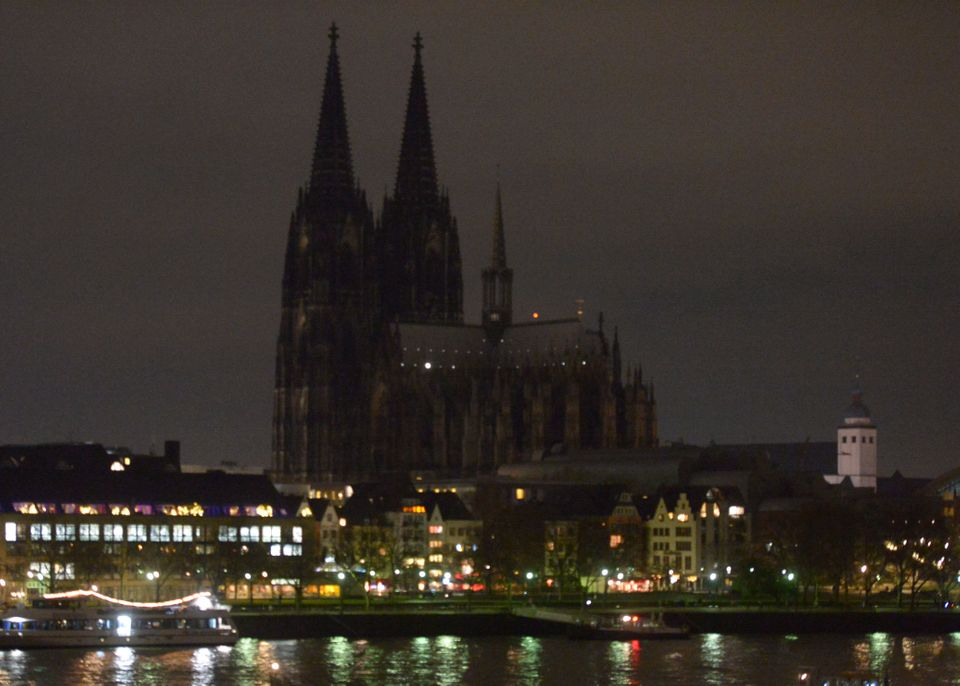 "One of Germany's most famous landmarks, Cologne Cathedral, was&nbsp;<a href=""https://www.huffpost.com/entry/cologne-cathedral"