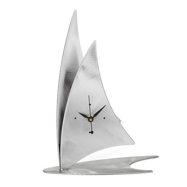 "Sailboat Desk Clock, $65 at <a href=""http://www.uncommongoods.com/product/sailboat-desk-clock"" target=""_blank"">UncommonGoods<"