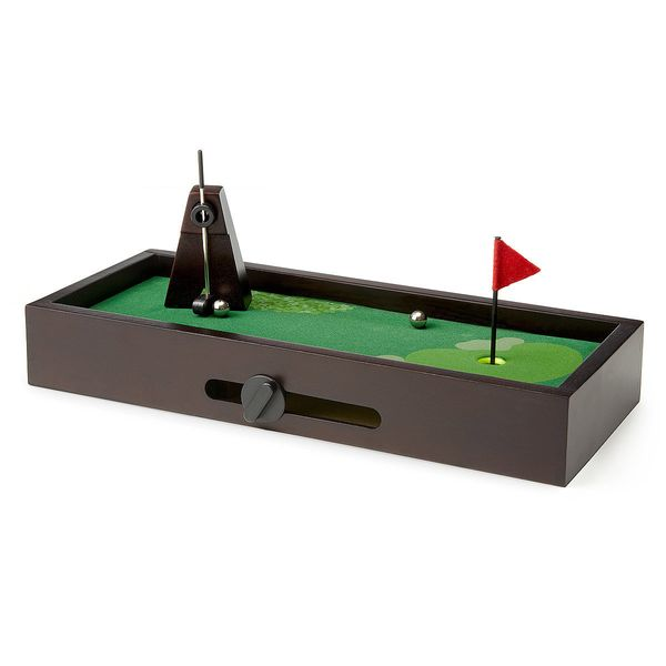 "Desktop Mini Golf, $35 at <a href=""http://www.uncommongoods.com/product/desktop-golf"" target=""_blank"">UncommonGoods</a>"