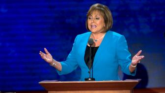 UNITED STATES - AUGUST 29: New Mexico Gov. Susana Martinez gives her speech on the third night of the 2012 Republican National Convention at the Tampa Bay Times Forum. (Photo By Chris Maddaloni/CQ Roll Call)