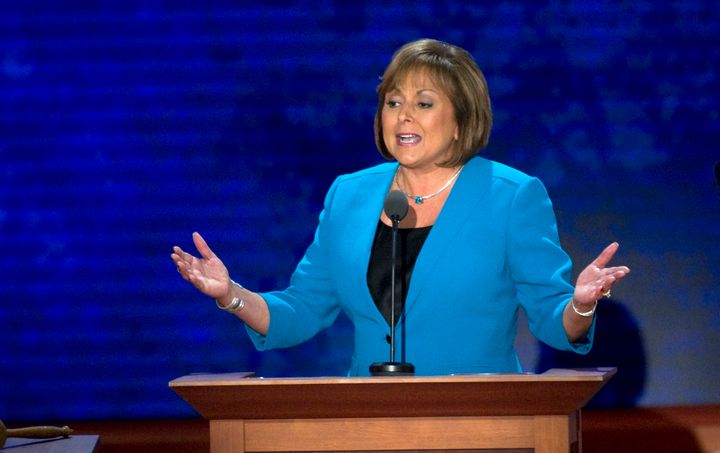 New Mexico Gov. Susana Martinez (R) was caught on tape admonishing police for breaking up a gathering in her Santa