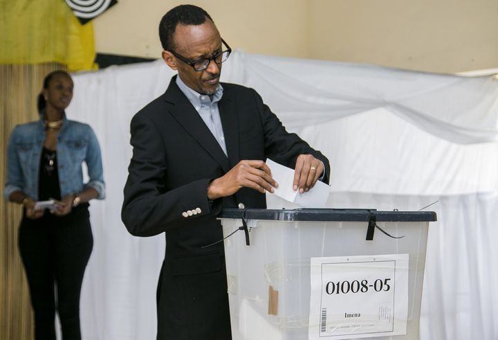 President Paul Kagame has been effectively in control in Rwanda since 1994.