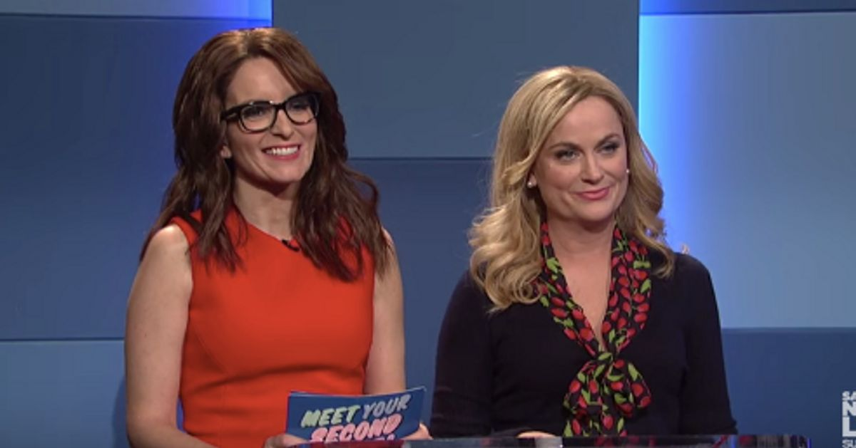 snl amy poehler and tina fey meet your second wife on youtube