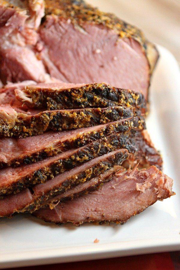 """<strong>Get the <a href=""""http://www.recipegirl.com/2015/05/05/slow-cooker-cider-ham/"""">Slow Cooker Cider Ham recipe</a>f"""