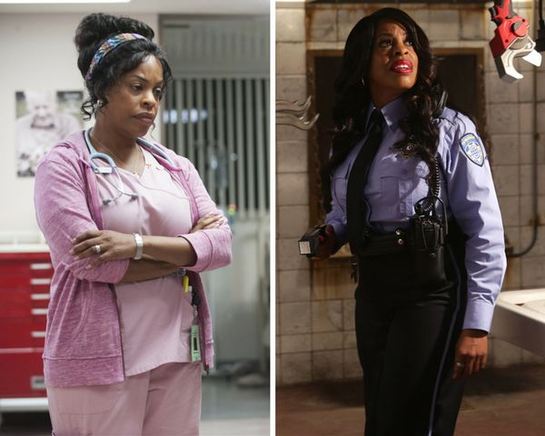 "Newly-anointed Emmy nominee Niecy Nash showcased her range with the grace of ""Getting On"" and the overblown camp of"