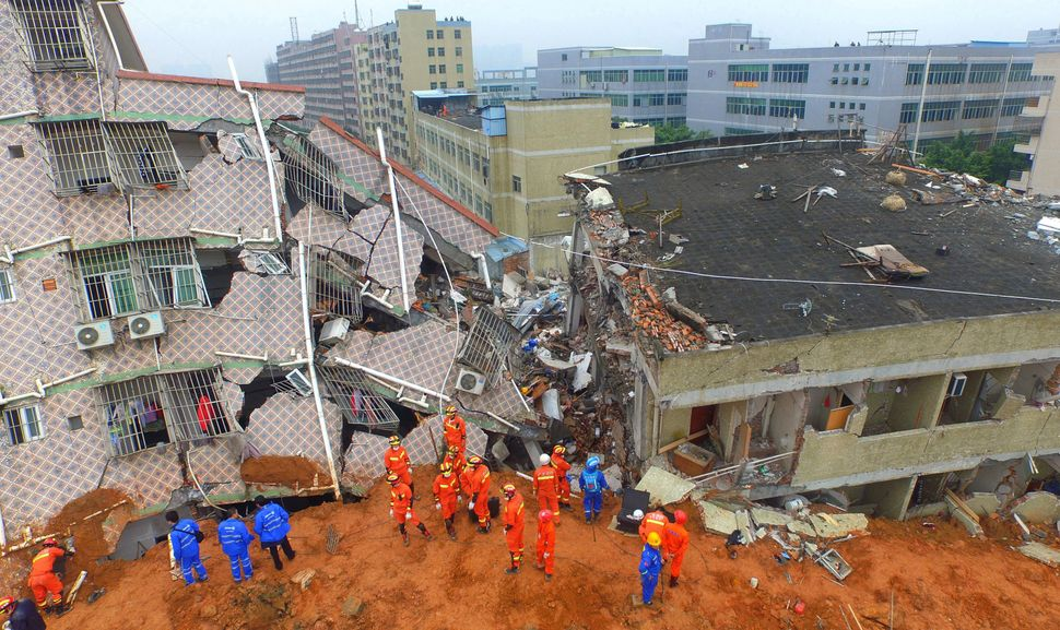 At least 85 people remain missing and 16 people hospitalized after the disaster.