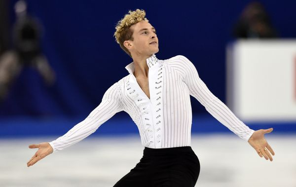 "The figure skater came out as gay in 2015 in <a href=""http://www.usfigureskatingfanzone.com/uncategorized/skating-magazi"