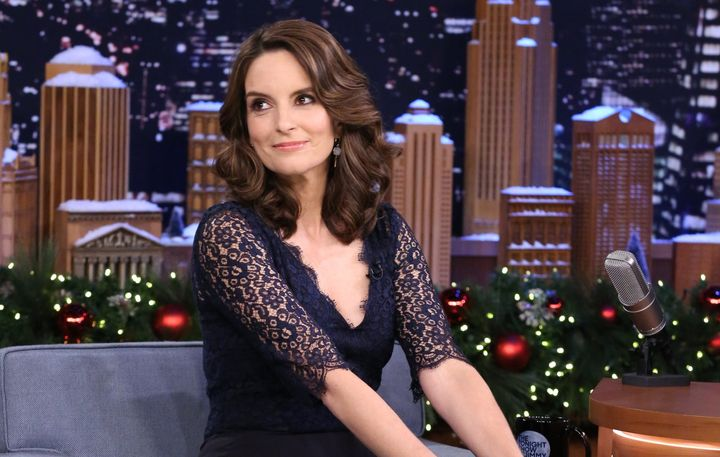 Tina Fey appears on The Tonight Show with Jimmy Fallon on Dec. 14.
