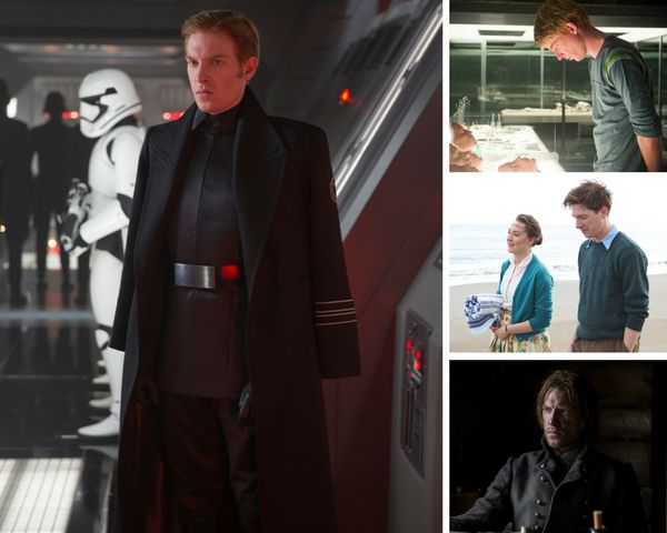 "Domhnall Gleeson played a First Order baddie in ""Star Wars,"" an unsuspecting programmer in ""Ex Machina,"" a gentle Irish suito"
