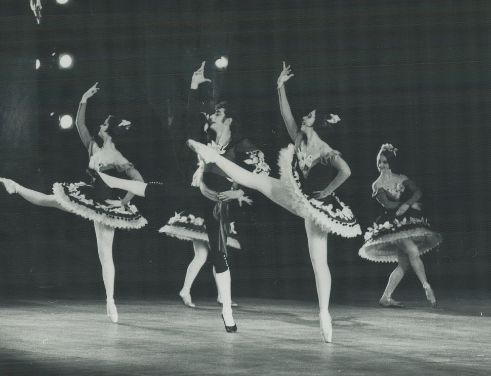 "A photo of the National Ballet production of ""The Nutcracker"" in the early 1900s."