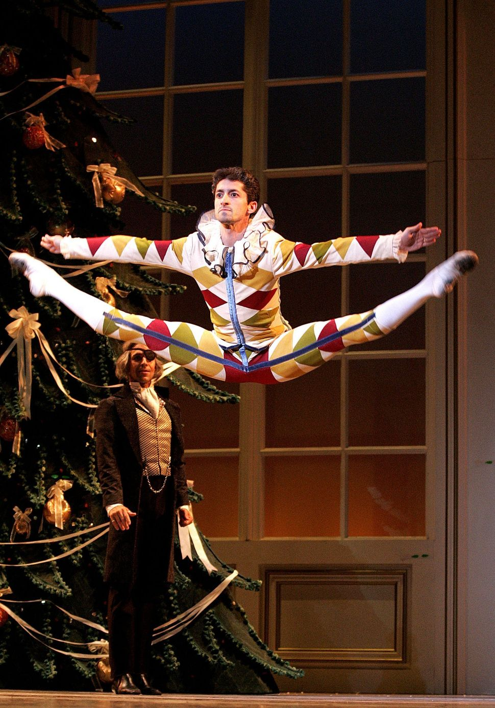 "During a dress rehearsal of the Boston Ballet's ""The Nutcracker"" on Wednesday night at the Colonial Theater, dancer Jared Red"