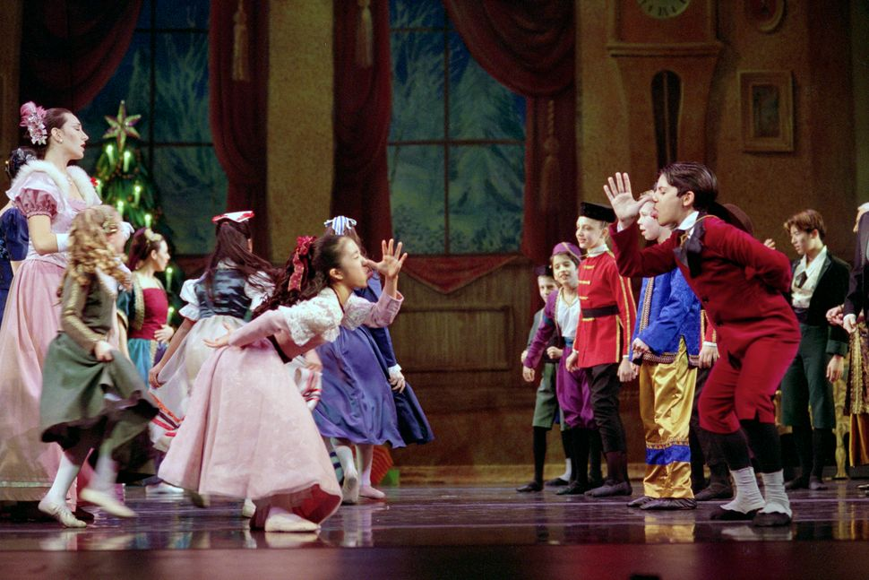 Francis Patrelle's ''The Yorkville Nutcracker'' on Friday, December 13, 2002 at Kaye Playhouse at Hunter College.