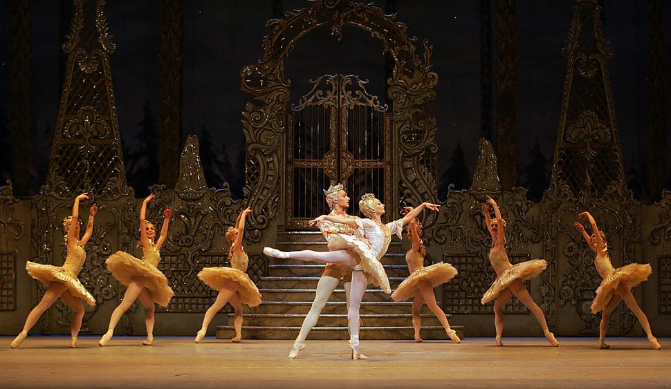 "Dancers from the Royal Ballet perform a dress rehearsal of ""The Nutcracker"" in 2005."