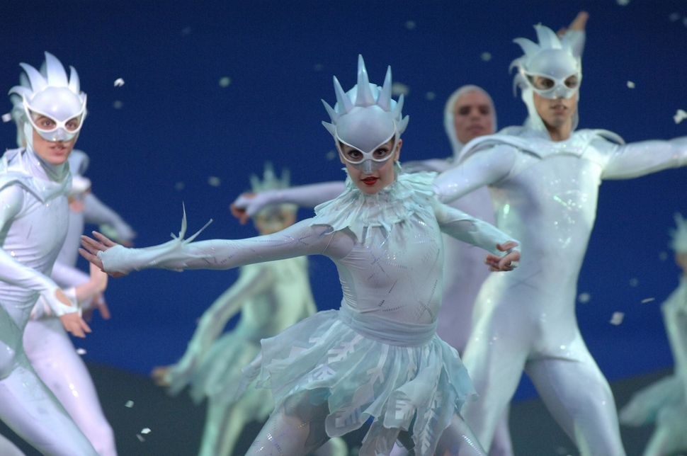 "The English National Ballet perform ""The Nutcracker"" at the London Coliseum in 2005."