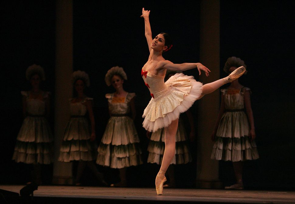 "Paloma Herrera performing with the Los Angeles Ballet in ""The Nutcracker"" at the Wilshire Theatre in Beverly Hills in 2006."