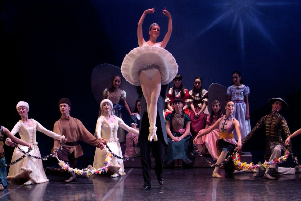 "Dress rehearsal of ""The Nutcracker"" by the Madrid Theater in 2007."