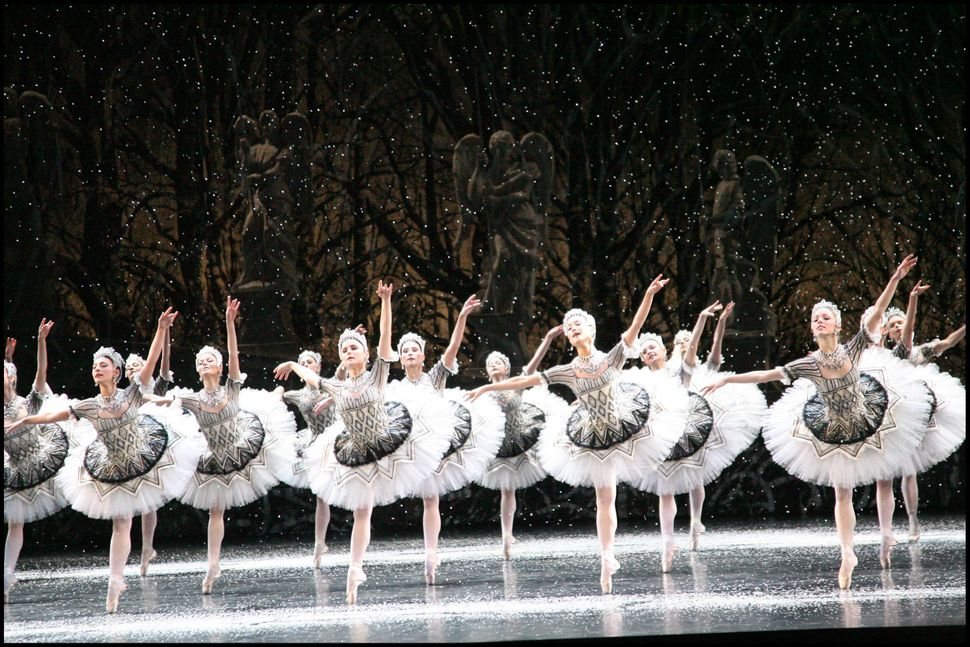 "The Ballet at The Opera In Paris performs ""The Nutcracker"" in 2008."