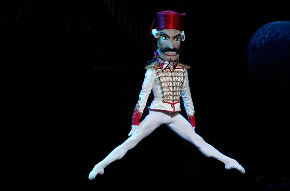 "James Whiteside in the role of ""The Nutcracker"" during the Boston Ballet's production at the Boston Opera House in 2010."