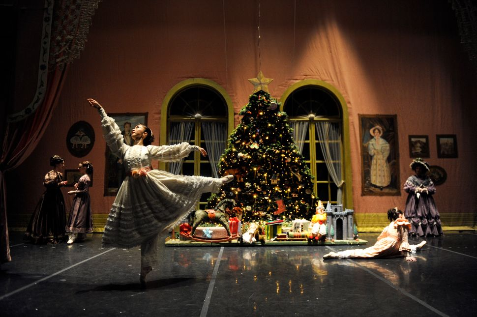 "Asuka Sasaki prepares for her role as Clara before a production of ""The Nutcracker"" by the Colorado Ballet in 2010."