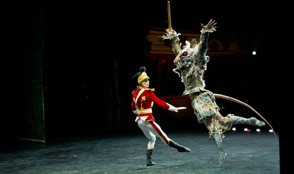 "Dancers of the English National Ballet perform ""The Nutcracker"" at the Coliseum in 2011."