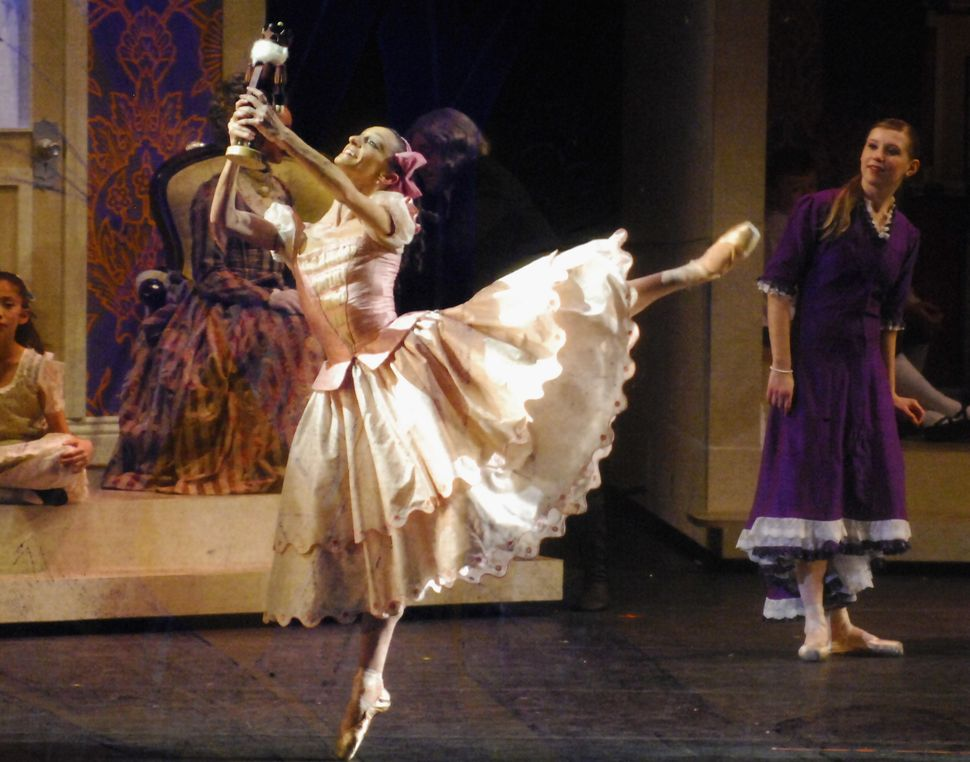 "Nevada Ballet Theater actors perform the premiere of ""The Nutcracker"" at The Smith Center for the Performing Arts in Las"