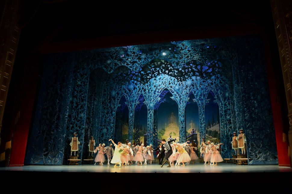 "Hungarian National Ballet dancers perform ""The Nutcracker"" at the Hungarian State Opera in Budapest in 2015."
