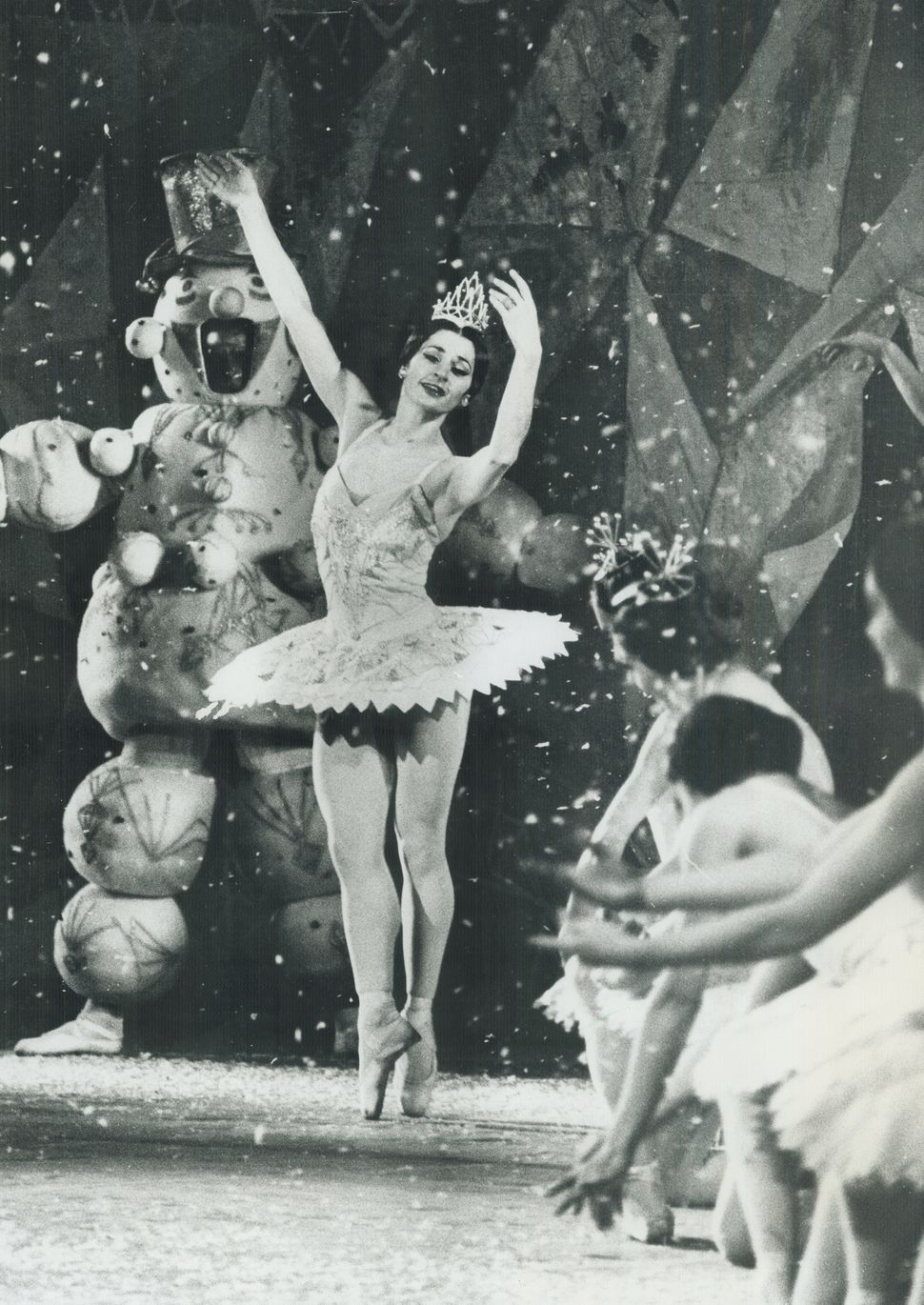 "Sugar Plum Fairy dances in ""The Nutcracker"" in Toronto in 1981."