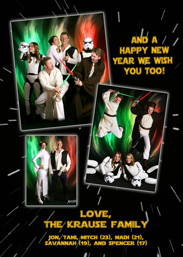 This Family\'s Star Wars Holiday Card Is A \'Force\' To Reckon With ...
