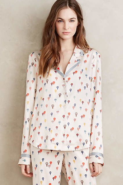 """Balloon Ride Sleep Top, $68 at <a href=""""http://www.anthropologie.com/anthro/product/clothes-loungewear/37029154.jsp#/"""" target"""