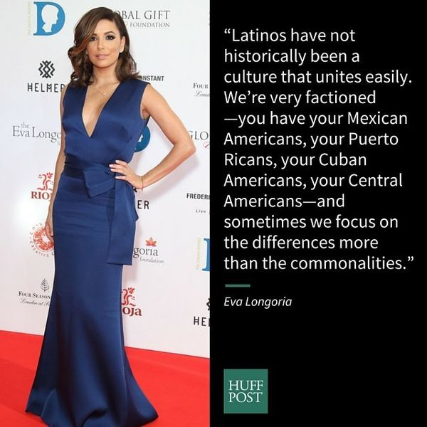 "Actress Eva Longoria&nbsp;made an&nbsp;<a href=""https://www.huffpost.com/entry/eva-longoria-latino-unity_n_6888040"">interesti"